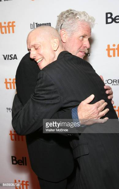 Ron Perlman and Doug Jones attend 'The Shape of Water' premiere during the 2017 Toronto International Film Festival at The Elgin on September 11 2017...