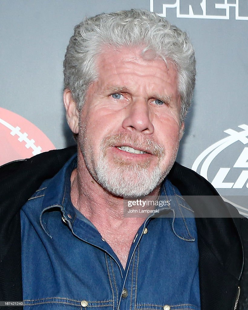 Ron Perlman attend the 10th Annual ESPN The Magazine Pre-Draft Party at The IAC Building on April 24, 2013 in New York City.