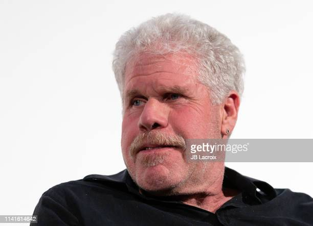 Ron Perlman attends a special screening of The City Of Lost Children with Director JeanPierre Jeunet at the Aero Theater on May 06 2019 in Santa...
