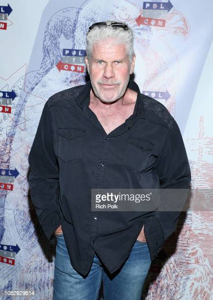 Ron Perlman attends Politicon 2018 at Los Angeles Convention Center on October 20, 2018 in Los Angeles, California.