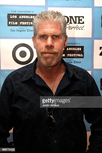 """Ron Perlman attends the 2009 Los Angeles Film Festival's """"I Sell The Dead"""" Screening at the Landmark Theater on June 24, 2009 in Los Angeles,..."""