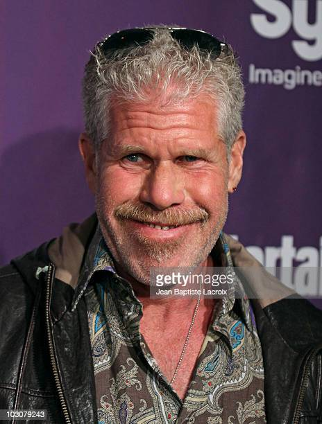 Ron Perlman attends the EW and SyFy party during Comic-Con 2010 at Hotel Solamar on July 24, 2010 in San Diego, California.