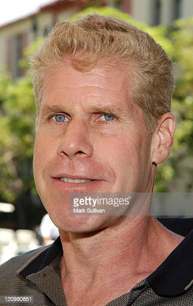 Ron Perlman during 4th Annual Academy of Arts Sciences Foundation Celebrity Golf Tournament at Riviera Country Club in Pacific Palisades California...