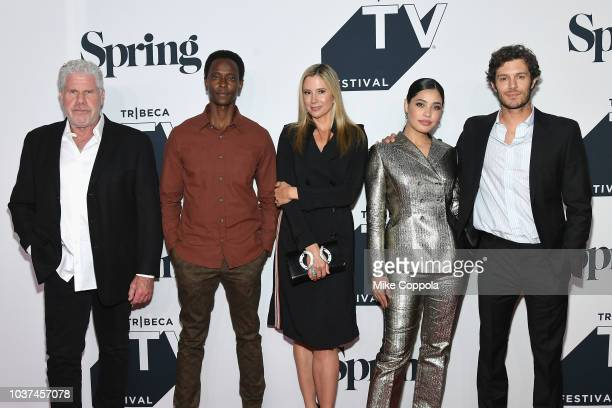 Edi Gathegi attends the 'Startup' Season 3 Premiere for the Tribeca TV Festival at Spring Studios on September 21 2018 in New York City