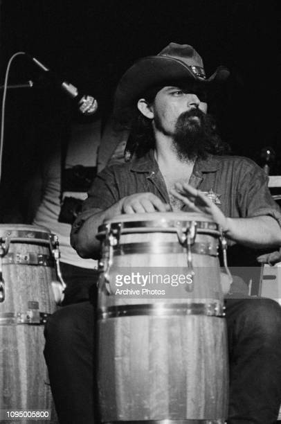 Ron 'Pigpen' McKernan performing with American rock group The Grateful Dead at the Woodstock Music Festival Bethel New York 16th August 1969