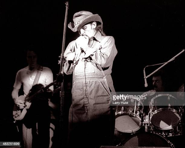 Ron 'Pigpen' McKernan performing with 'The Grateful Dead' at Winterland in San Francisco California on December 31 1970