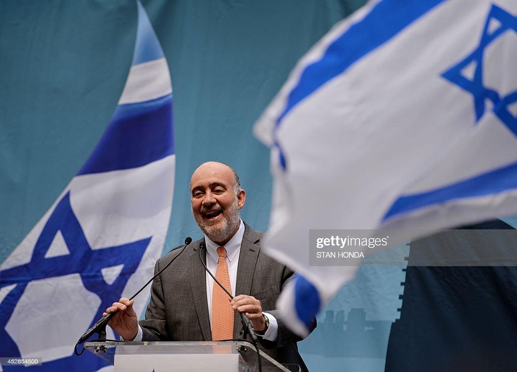 US-ISRAEL-NY-DEMONSTRATION : News Photo