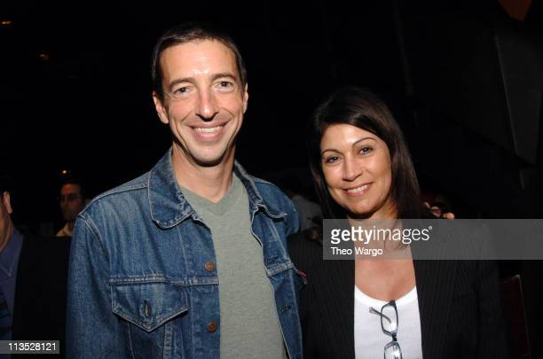 Ron Reagan and Caroline Hirsch during The Creative Coalition Presents Art$ Education and the 21st Century Entertainment Industry Joins Forces with...