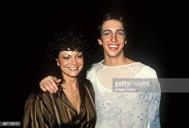 Ron Reagan Jr and wife Doria attend the Joffrey Ballet in Lincoln Center circa 1981 in New York City
