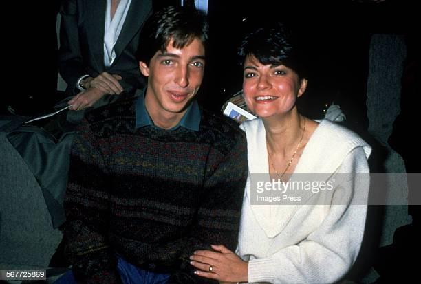 Ron Reagan Jr and wife Doria circa 1983 in New York City