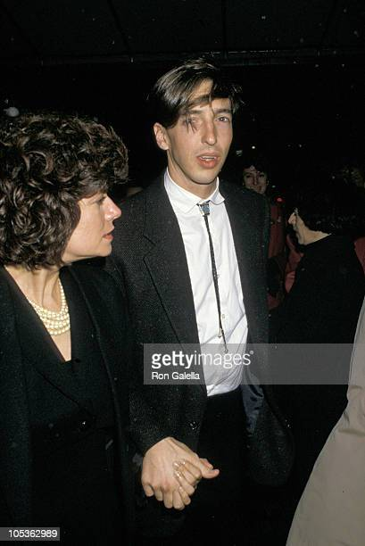 Ron Reagan Jr and wife Doria during The American Debut of Vladimar Feltsman at Carnegie Hall in New York City New York United States