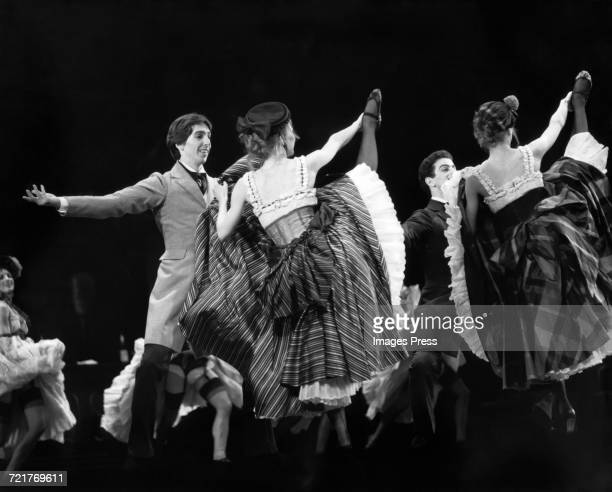Ron Reagan Jr performing with the Joffrey Ballet circa 1982 in New York City