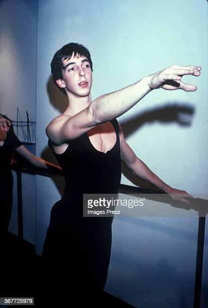 Ron Reagan Jr the Ballet dancer circa 1980 in New York City