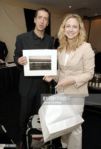 Ron Reagan Jr with Julie Chytrowsky during Backstage Creations Retreat at the Promax/BDA Conference at Marriot Marquis in New York City New York...
