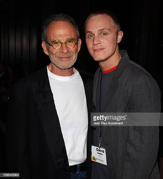 Ron Rifkin and David Anders during ABC AllStar Party at Astra West in West Hollywood California United States