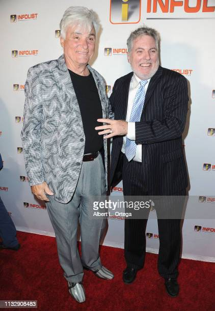 Ron Russell and Jimmy Star arrive for PreOscar Soiree Hosted By INFOListcom and Birthday Celebration for Founder Jeff Gund held at SkyBar at the...