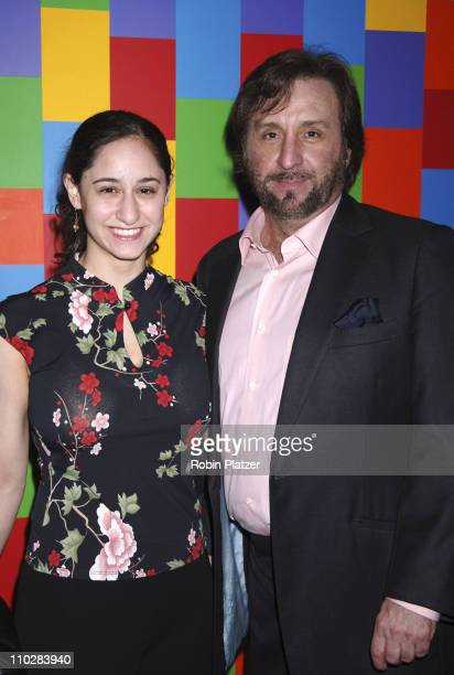"Ron Silver and daughter Alexandra during ""Thank You For Smoking"" New York Premiere - Inside Arrivals - March 12, 2006 at Museum of Modern Art in New..."