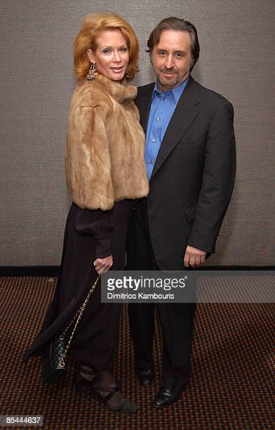 Ron Silver and wife Catherine de Castelbajac
