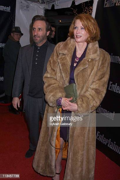 Ron Silver, Catherine de Castelbajac during Entertainment Weekly's 8th Annual Academy Awards Viewing Party at Elaine's in New York, New York, United...