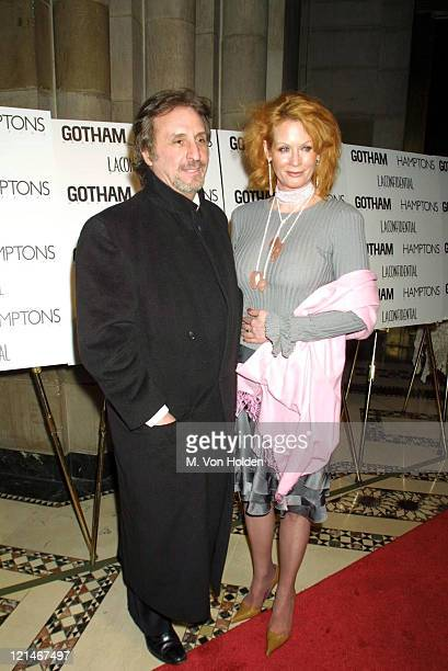 Ron Silver, Catherine de Castelbajac during Gotham Magazine and Los Angeles Confidential Magazine Host Anniversary Party at Cipriani in New York, New...
