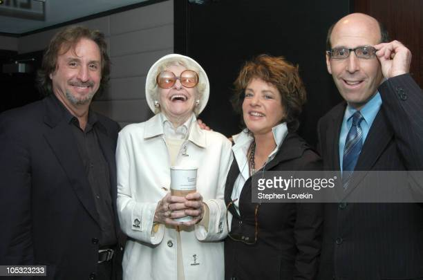 Ron Silver Elaine Stritch Stockard Channing and Showtime Chairman and CEO Matt Blank