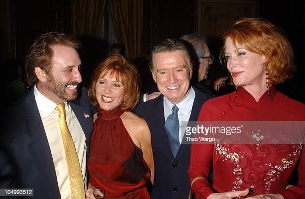 Ron Silver Joy Philbin Regis Philbin and Catherine de Castel Bajac