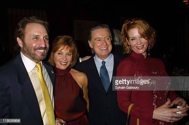 Ron Silver, Joy Philbin, Regis Philbin, Catherine de Castelbajac