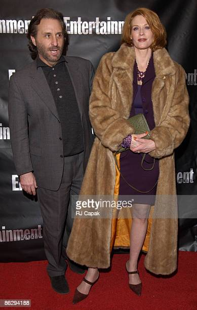 Ron Silver & wife Catherine De Castelbajac