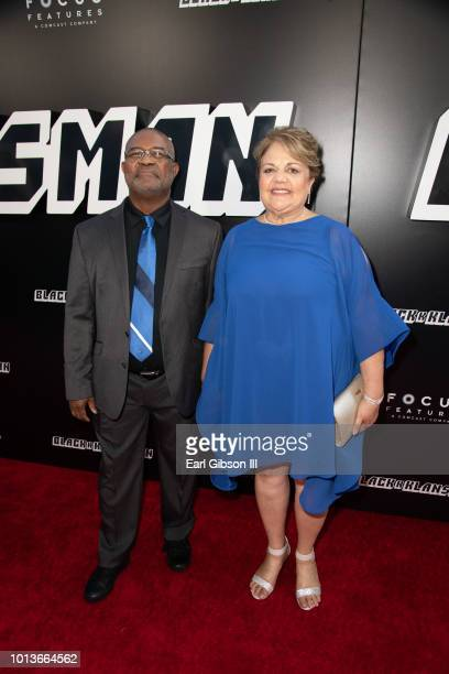 Ron Stallworth attends the Premiere Of Focus Features BlackkKlansman at Samuel Goldwyn Theater on August 8 2018 in Beverly Hills California