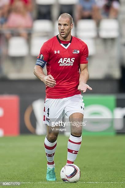 Ron Vlaar of AZ Alkmaar during the UEFA Europa League group D match between AZ Alkmaar and Dundalk FC on September 15 2016 at the AFAS stadium in...