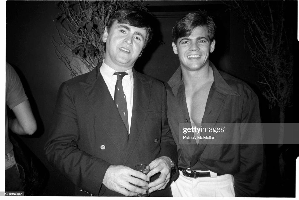 Ron Wanless and Jeff Stryker  at the Palladium : News Photo