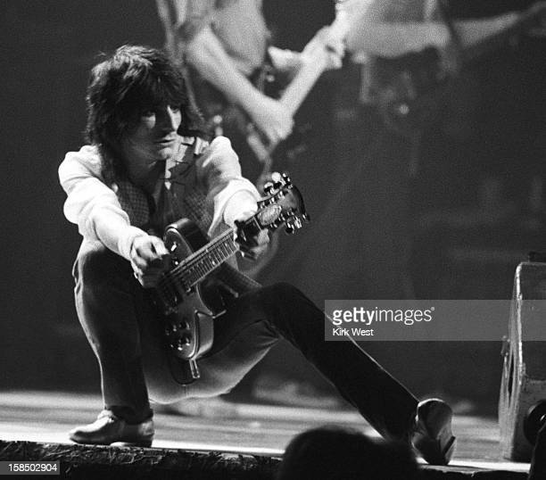 Ron Wood and the New Barbarians perform at Chicago Ampitheater Chicago Illinois May 1 1979