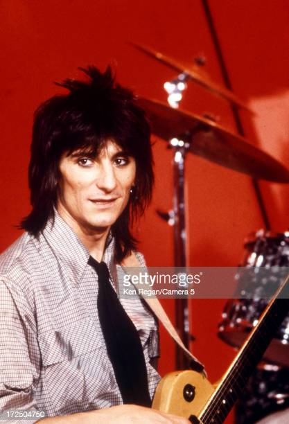 Ron Wood of the Rolling Stones is photographed on stage in the 1970's CREDIT MUST READ Ken Regan/Camera 5 via Contour by Getty Images