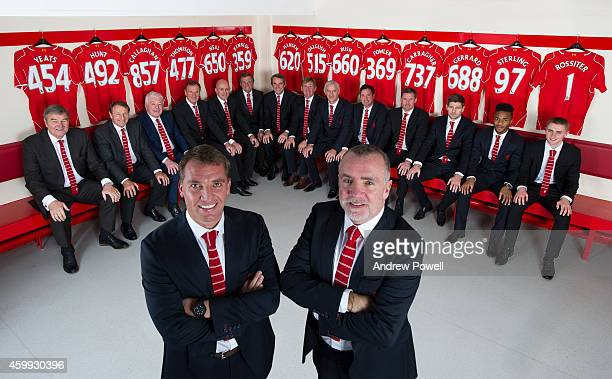 Ron Yeats Rodger Hunt Ian Callaghan Phil Thompson Phil Neal Alan Kennedy Alan Hansen Kenny Dalglish Ian Rush Robbie Fowler Jamie Carragher Steven...