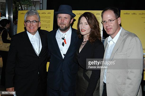 Ron Yerxa Jonathan Dayton Valerie Faris and Albert Berger attend LITTLE MISS SUNSHINE New York Premier at AMC Loews Lincoln Square on July 25 2006 in...