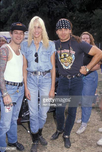 Ron Young of Little Caesar Daryl Hannah and Mike Tramp of White Lion