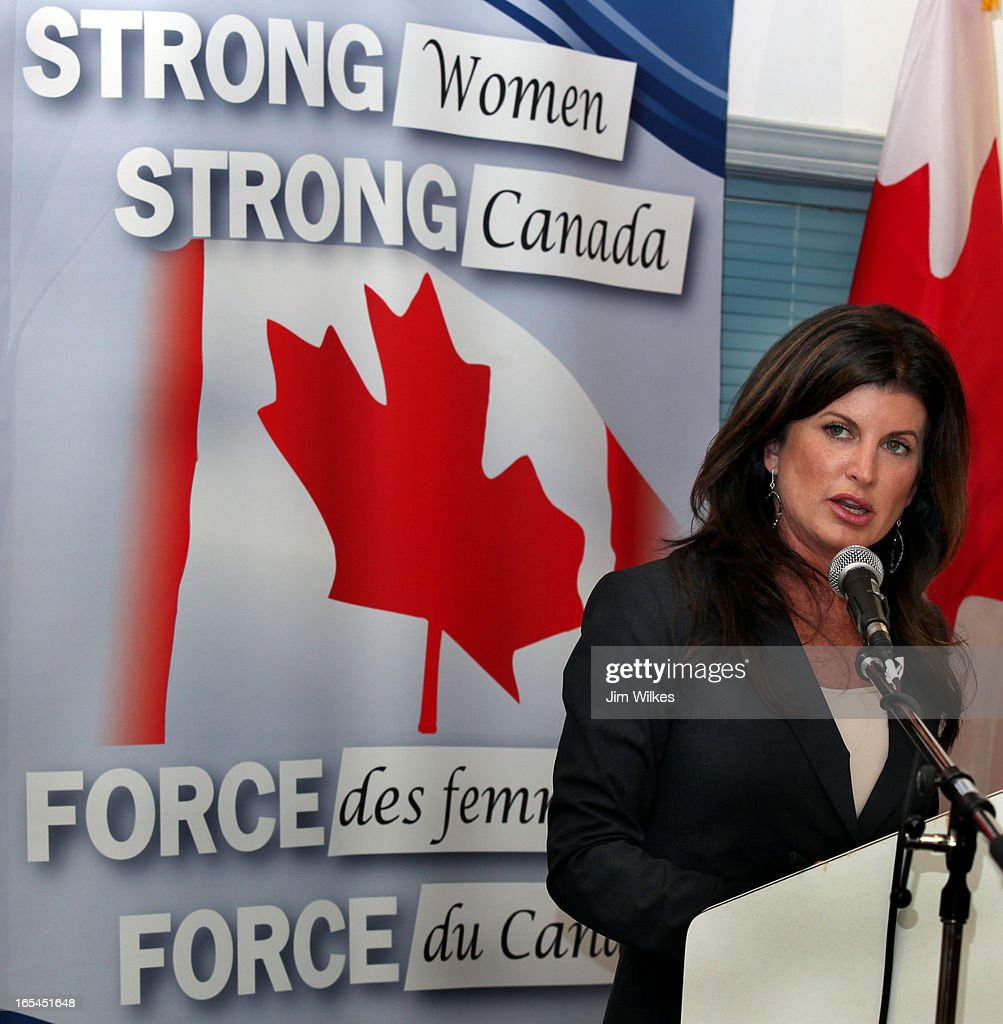AMBROSE 1 - 07/12/10 -- Rona Ambrose, federal minister for the status of women, said Ottawa will not : News Photo