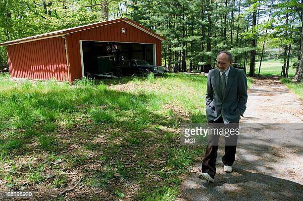 Ronald Ace photographed at his home in Laurel Maryland May 4 said his flatpanel 'Solar Traps' which can be mounted on rooftops or used in power...