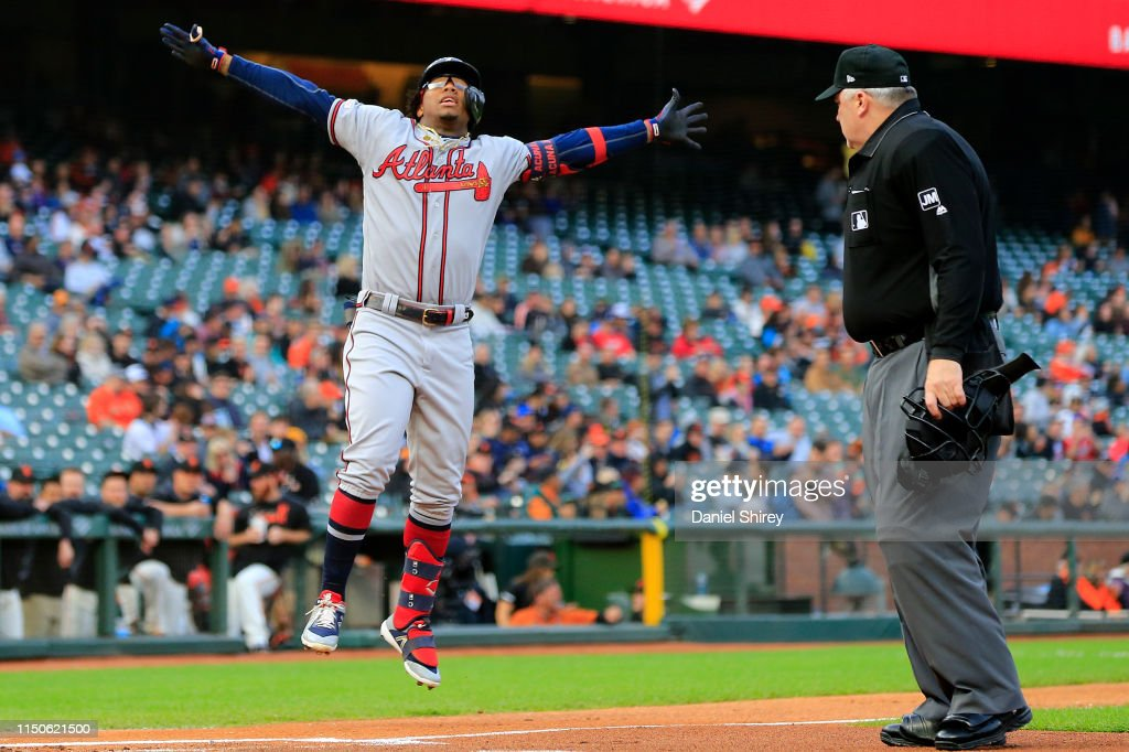 CA: Atlanta Braves v San Francisco Giants