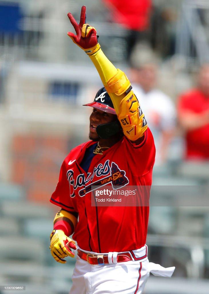 Miami Marlins v Atlanta Braves : ニュース写真
