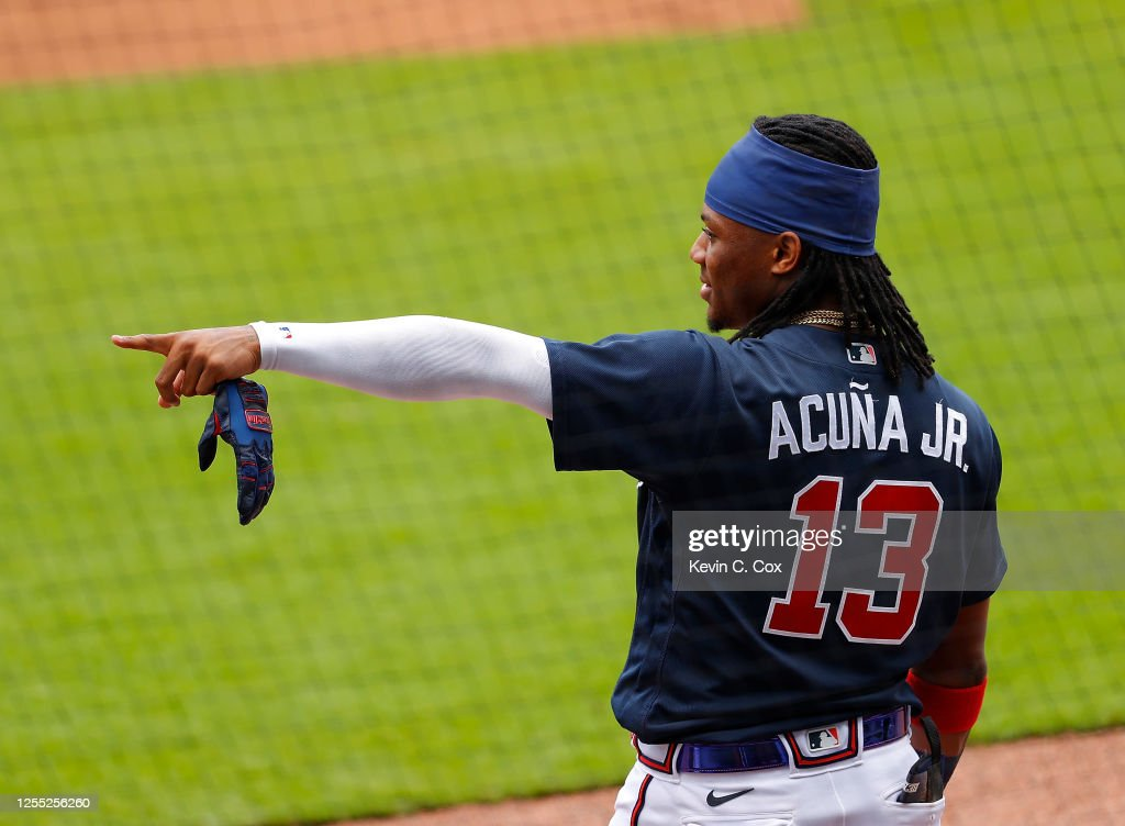 Atlanta Braves Summer Workouts : News Photo