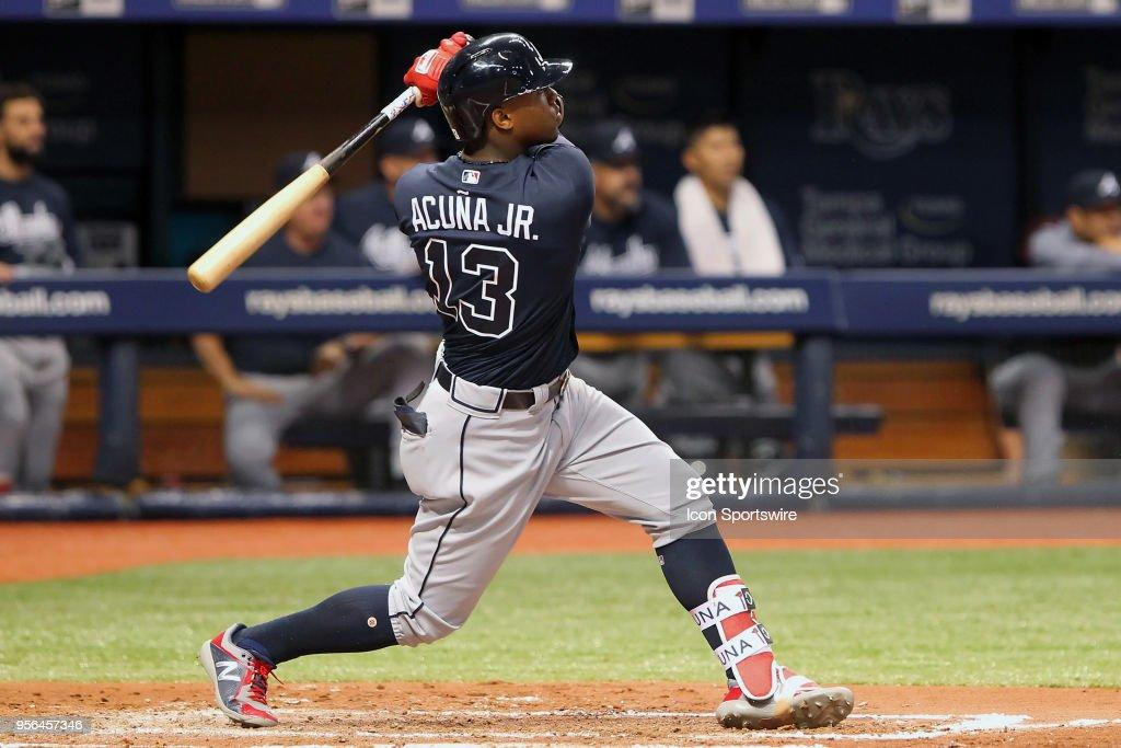 MLB: MAY 08 Braves at Rays : News Photo