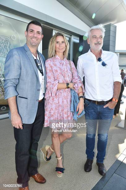 Ronald Alalouf Guest and Dominic Gerente attend The Bridge 2018 at The Bridge on September 15 2018 in Bridgehampton NY