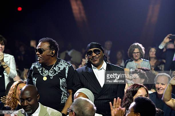 Ronald and Ernie Isley attend the Berklee College of Music 2016 Commencement Concert A Tribute to Rita Moreno Milton Nascimento Lucian Grainge and...