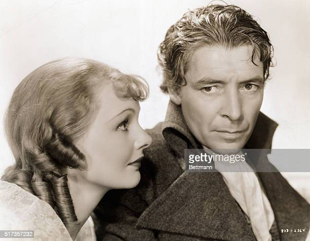 Ronald Coleman and Elizabeth Allan in MGM's 1936 film 'Tale of Two Cities' Undated movie still