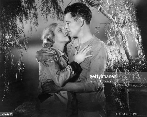 Ronald Colman and Ann Harding star as the forbidden lovers in the Samuel Goldwyn film 'Condemned' directed by Wesley Ruggles