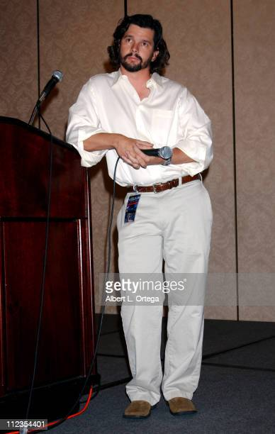 """Ronald D. Moore during 2003 Galacticon Celebrating the 25th Anniversary of """"Battlestar Galactica"""" - Day One at The Universal Sheraton Hotel in..."""
