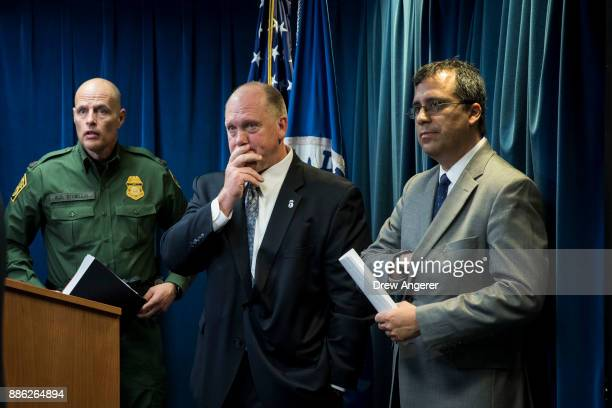 Ronald D Vitiello Acting Deputy Commissioner of US Customs and Border Protection Thomas Homan Senior Official Performing the Duties of the Director...