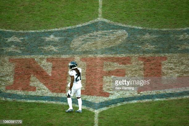 Ronald Darby of the Eagles during the NFL International Series match between Philadelphia Eagles and Jacksonville Jaguars at Wembley Stadium on...