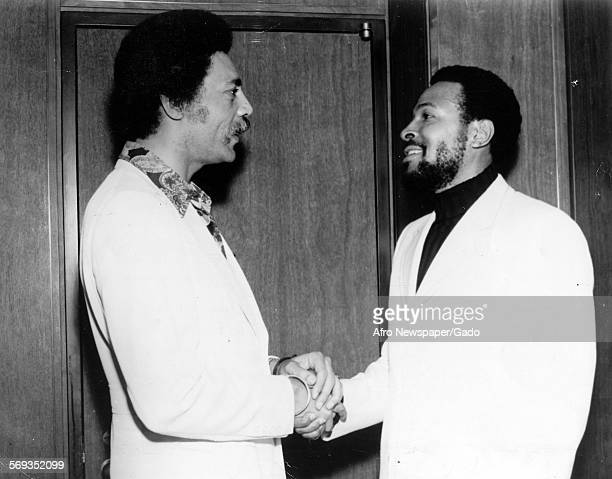 Ronald Dellums and Marvin Gaye 1970